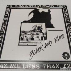 Discos de vinilo: DIRT-- BLACK AND WHITE-DOBLE LP. Lote 296001748
