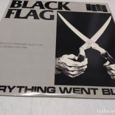 Discos de vinilo: BLACK FLAG - EVERYTHING WENT BLACK-DOBLE LP. Lote 296004363