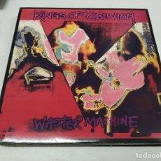 Discos de vinilo: KINGS OF OBLIVION - WASTER MACHINE (LP, ALBUM)--IN YOUR FACE RECORDS. Lote 296004593