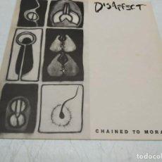 Discos de vinilo: DISAFFECT - CHAINED TO MORALITY (LP, ALBUM). Lote 296004873