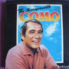 Discos de vinilo: BOX SET - PERRY COMO - THE INCOMPARABLE COMO (CAJA CON 6 LP'S, ENGLAND, READER'S DIGEST. Lote 296008248
