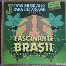 Discos de vinilo: BOX SET - JOYAS MUSICALES PARA RECORDAR - FASCINANTE BRASIL (CAJA CON 3 LP'S, SPAIN). Lote 296009573