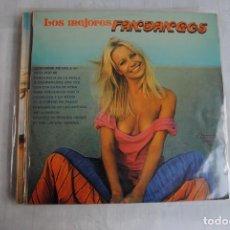 Discos de vinilo: LOS MEJORES FANDANGOS. OLYMPO 1976 LP SEXY COVER. Lote 296009633