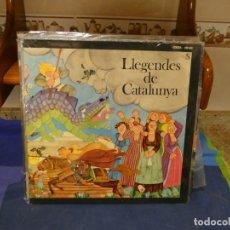 Discos de vinilo: EXPRO BONITO LP EDICSA 1975 BUEN ESTADO LLEGENDES DE CATALUNYA LIBRETILLO. Lote 296017653