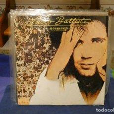 Discos de vinilo: EXPRO LP ESPAÑA 1977 MUY BUEN ESTADO GENERAL SOBRETODO DISCO LUCIO BATTISTI IO TU NO E TUTTI. Lote 296018918