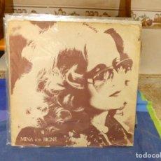 Discos de vinilo: EXPRO LP ITALIA 1977 MINA CON BIGNE CORRECTO ESTADO GENERAL CON LEVE USO. Lote 296019143