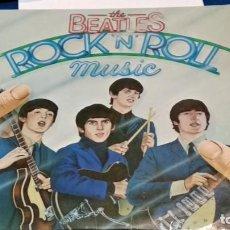 Discos de vinilo: LP - VINILO THE BEATLES - ROCK `N´ ROLL MUSIC - DOBLE PORTADA - DOBLE LP -1976 EMI ESPAÑA -VER FOTOS. Lote 296028628