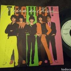 Discos de vinilo: TEQUILA. SINGLE. MIRA ESA CHICA. MADE IN SPAIN. 1980. Lote 296028868