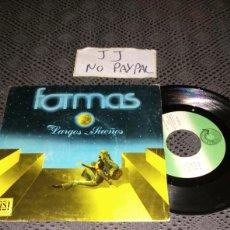 Discos de vinilo: ROCK ANDALUZ FORMAS LARGOS SUEÑOS SOLEÁ AHÍ ABAJO LA TIERRA SURCOSUR SEVILLA. Lote 296048643