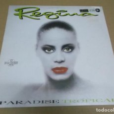 Discos de vinilo: REGINA (MAXI) PARADISE TROPICAL (2 TRACKS) AÑO – 1986 – EDICION U.S.A.. Lote 296049028