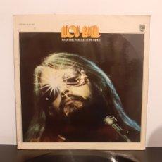 Discos de vinilo: LEON RUSSELL (FIRMADO Y DEDICADO). AND THE SHELTER PEOPLE. PHILIPS. 1973. ESPAÑA.. Lote 296057933