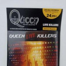 Discos de vinilo: QUEEN: THE VINYL COLLECTION - LIVE KILLERS (DOBLE ALBUM) - PLANETA DEAGOSTINI (PRECINTADO). Lote 296067178