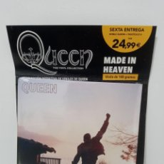 Discos de vinilo: QUEEN: THE VINYL COLLECTION - MADE IN HEAVEN (DOBLE ALBUM) - PLANETA DEAGOSTINI (PRECINTADO). Lote 296067248