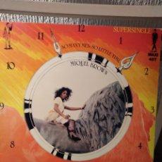 """Discos de vinilo: VINILO MAXISINGLE- MIQUEL BROWN """"SO MANY MEN-SO LITTLE TIME"""". Lote 296068448"""