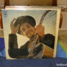 Discos de vinilo: EXPRO LP BOB DYLAN LP HOMONIMO ESPAÑA 1970 LABEL NARANJA OSCURO ESTADO MAS QUE OPTIMO. Lote 296068683