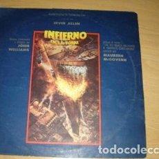 Discos de vinilo: INFIERNO EN LA TORRE JOHN WILLIAMS MAUREEN MC GOVERN LP. Lote 296262188