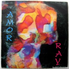 Discos de vinilo: RAY - AMOR - MAXI PRODUCCIONES MÁS VOLUMEN 1992 BPY. Lote 296562158