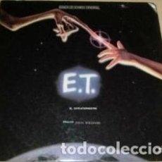 Discos de vinilo: JOHN WILLIAMS ET EL EXTRATERRESTRE VINILO ARGENTINO. Lote 296327258