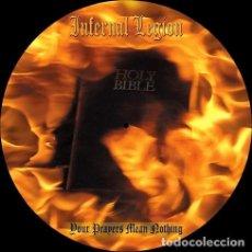 Discos de vinilo: INFERNAL LEGION YOUR PRAYERS MEAN NOTHING VINILO LP US IMP. Lote 296348563