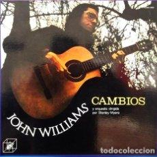 Discos de vinilo: JOHN WILLIAMS CAMBIOS 1973 2 LP. Lote 296398588