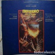 Discos de vinilo: VINILO INFIERNO EN LA TORRE JOHN WILLIAMS MCGOVERN BS1. Lote 296407803