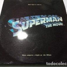 Discos de vinilo: JOHN WILLIAMS SUPERMAN EL FILM BANDA SONORA ORIGINAL 1979. Lote 296423273