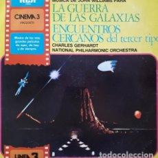 Discos de vinilo: JOHN WILLIAMS LA GUERRA DE LAS GALAXIAS LP. Lote 296426963
