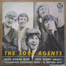 Discos de vinilo: THE SOUL AGENTS -MEAN WOMAN BLUES -ISOLO QUIERO AMARTE -HAGÁMOSLO AGRADABLE, ETC.. Lote 296585113