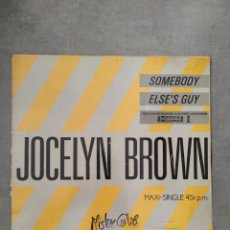 Discos de vinilo: JOCELIN BROWN. Lote 296585938