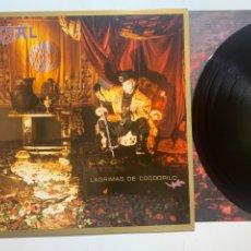 Discos de vinilo: LP TINO CASAL LÁGRIMAS DE COCODRILO EDICIÓN ESPAÑOLA DE 1987. Lote 296593088