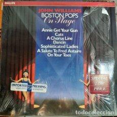 Discos de vinilo: VINILO JOHN WILLIAMS BOSTON POPS ON STAGE O4. Lote 296388133