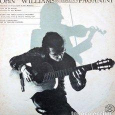 Discos de vinilo: JOHN WILLIAMS INTERPRETA A PAGANINI LP. Lote 296443633