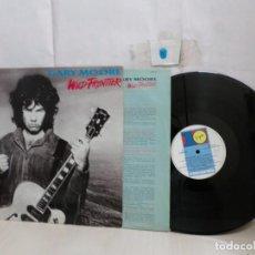 Discos de vinilo: GARY MOORE--WILD FRONTIER--VIRGIN--1987--RECORDS--MADRID-. Lote 296599078