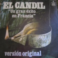 Discos de vinilo: GRUPO BADAJOZ - EL CANDIL - SINGLE ORGINAL ESPAÑOL - HISPAVOX RECORDS 1975 - MUY NUEVO(5). Lote 296607093