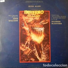 Discos de vinilo: JOHN WILLIAMS INFIERNO EN LA TORRE OST LP. Lote 296498193