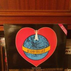 Discos de vinilo: RADIO HEART GARY NUMAN / ACROSS THE NATION / OLD GOLD 1994. Lote 296612783