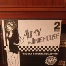Discos de vinilo: AMY WINEHOUSE / THE SKA & REGGAE COLLECTION / NOT ON LABEL. Lote 296617758