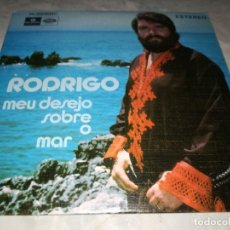 Discos de vinilo: RODRIGO-MEU DESEJO SOBRE O MAR. Lote 296625303