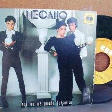 Discos de vinilo: MECANO-SINGLE HOY NO ME PUEDO LEVANTAR. Lote 296626973