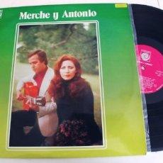 Discos de vinilo: MERCHE Y ANTONIO-LP. Lote 296629888