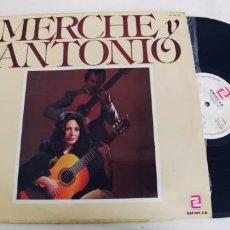 Discos de vinilo: MERCHE Y ANTONIO-LP MI BAHIA. Lote 296630038