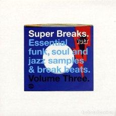 Discos de vinilo: 2LP VARIOS ARTISTAS SUPER BREAKS VOLUME THREE VINILO FUNK, SOUL JAZZ. Lote 296630793