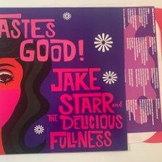 Discos de vinilo: LP JAKE STARR AND THE DELICIOUS FULLNESS – TASTES GOOD! EDICION ESPAÑOLA 2014 VINILO ROSA. Lote 296636643