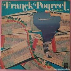 Discos de vinilo: LP FRANCK POURCEL - LATINO AMERICANO 78 - SPAIN PRESS - GATEFOLD (EX-/EX-). Lote 296683158