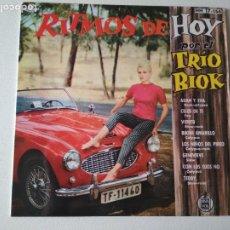 Discos de vinilo: TRIO BIOK - RITMOS DE HOY, EP, ADAN Y EVA + 7, AÑO 1961. Lote 296683643