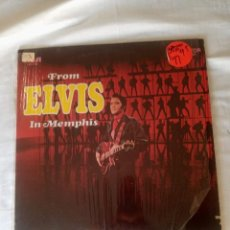 """Discos de vinilo: FROM ELVIS IN MEMPHIS LP DE 1969 IN NEW YORK USA POR RCA. HOLDS ONE OF HIS GREATEST SONGS """"IN THE G. Lote 296686883"""