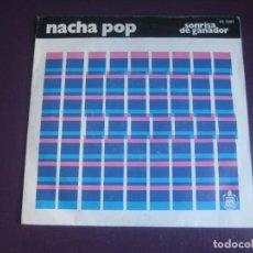 Discos de vinilo: NACHA POP – SONRISA DE GANADOR - SG HISPAVOX 1982 - MOVIDA 80'S - ANTONIO VEGA -. Lote 296694773