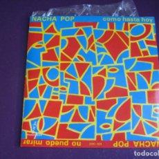 Discos de vinilo: NACHA POP – NO PUEDO MIRAR / COMO HASTA HOY - SG DRO 1983 - MOVIDA 80'S - ANTONIO VEGA -. Lote 296696068