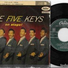 Discos de vinilo: THE FIVE KEYS EP C'EST LA VIE CAPITOL PART 3. Lote 296696388