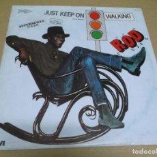 Discos de vinilo: ROD (MAXI) JUST KEEP ON WALKING (2 TRACKS) AÑO – 1983. Lote 296696703